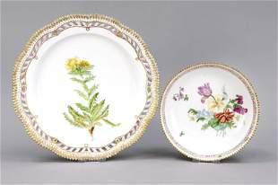 Two bowls, Royal Copenhagen, 20th c.
