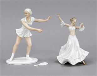 Two figures, Schaubach Kunst, Wallen