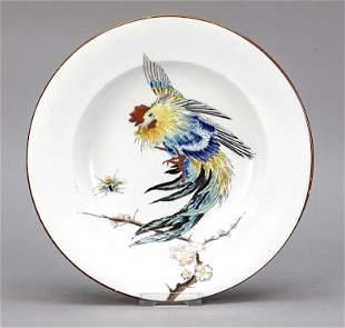 Deep plate, Vieillard & Cie, Bordeau