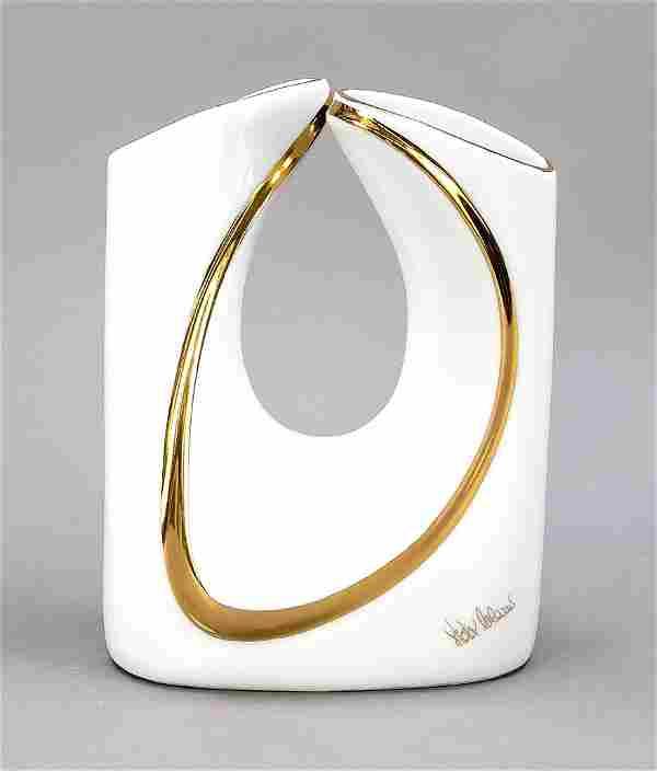 Artist's vase, Colani design, Italy,