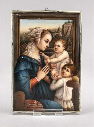 Porcelain painting, Italy, c. 1900,