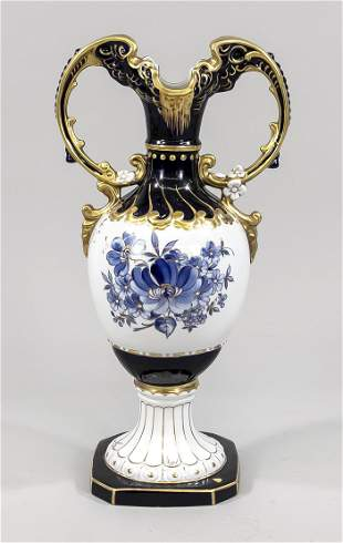 Large floor vase, Royal Dux, Bohemia
