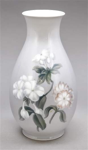 Art Nouveau vase, Bing & Gröndahl, C