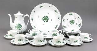 Coffee service for 6 persons, 22 pie