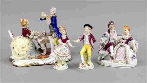 Four figures, Thuringia , 20th centu