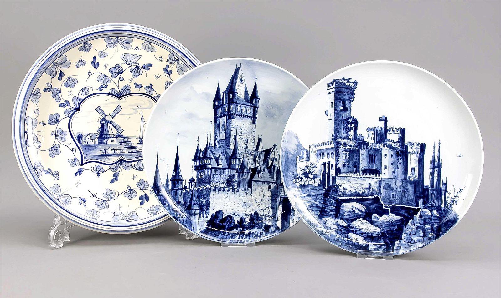 Three plates, Villeroy & Boch, Mettl