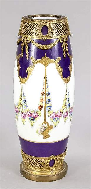 Vase, in the style of Sevres, France