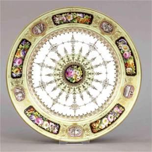 Plate, Sevres, France, mark 1869, st