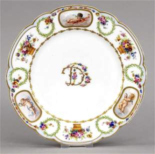 Plate, Sevres, France, reproduction