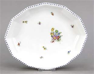 Oval bowl, Nymphenburg, mark 1925-75