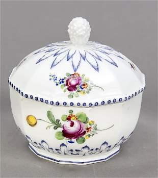 Sugar bowl, Nymphenburg, mark 1925-7