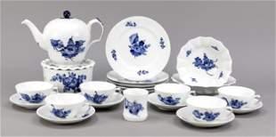 23 pieces of a tea set, Royal Copenh