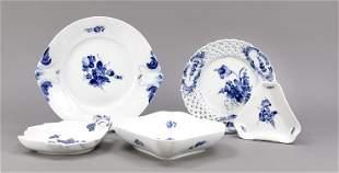 Five serving pieces, Royal Copenhage