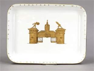 Rectangular plate, KPM Berlin, 2nd h