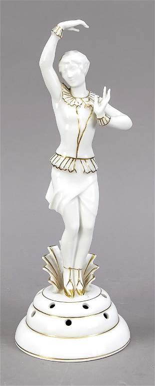 Art Deco figurine, Edelstein Bavaria