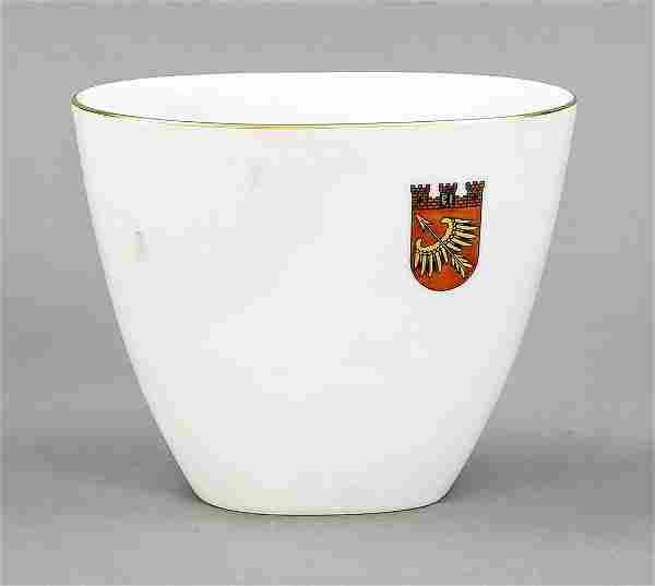 Vase, KPM Berlin, 2nd half of 20th c