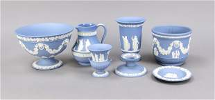 Set of seven pieces, Wedgewood, 20th
