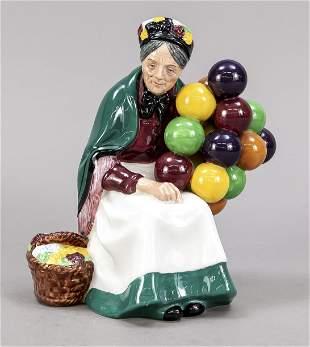 The old balloon seller, Royal Doulto