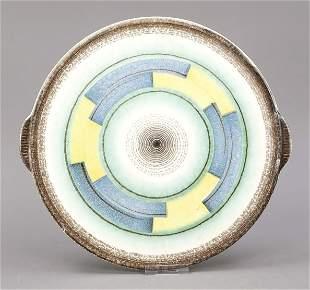 Art deco plate, German, 1920-30s, ce