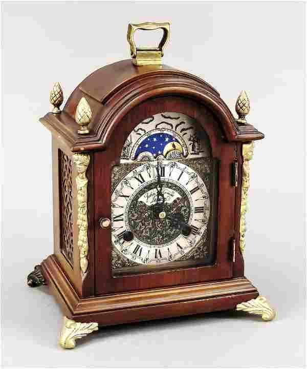 Table clock marked John Thom