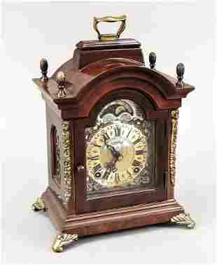 Table clock marked Warmink L