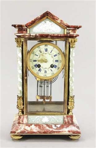Marble pendulum 2nd h.19th c