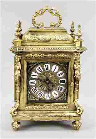 gilt bronze table clock, 2nd