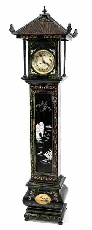 Grandfather clock, China, 2-
