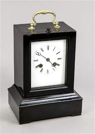 Table clock 1st half of 19th