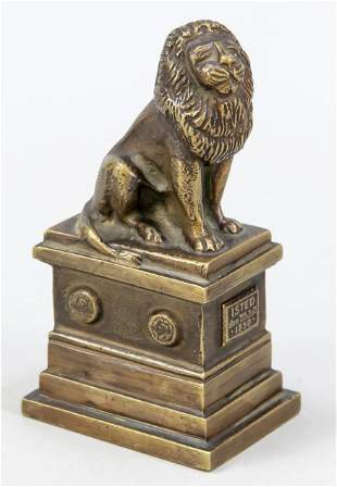 Small bronze sculpture of th