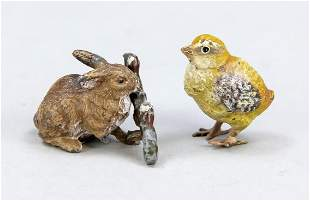 Two small Viennese bronzes a
