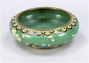 Cloisonné bowl, China, mid-2