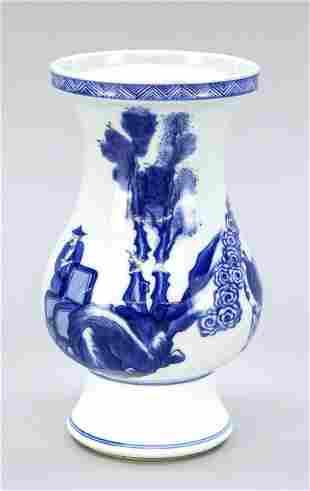 Kangxi style vase, China, 19