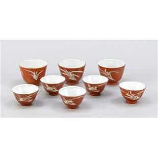 8 liquor cups, China, 2nd ha