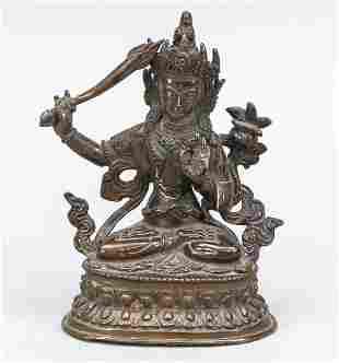 Manjushri, Tibet, 19th centu