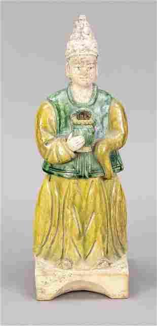 Ceramic/terracotta figure, C