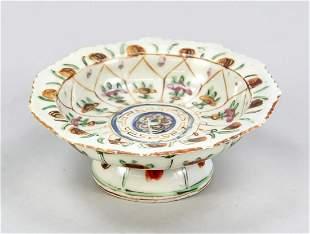 Small benjarong foot bowl, C