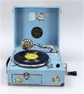 Gramophone for children, Engla