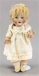 Porcelain head doll, Germany,