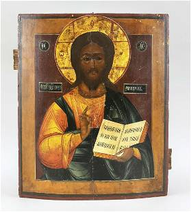 Icon of Christ Pantocrator, Ru