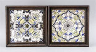 Pair of tile pictures, Netherl