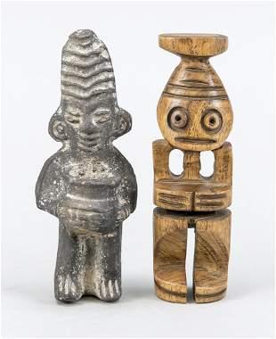 2 Egyptian priests, 1 x antiqu