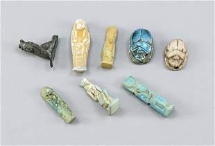 8 grave goods, Egypt, antique?