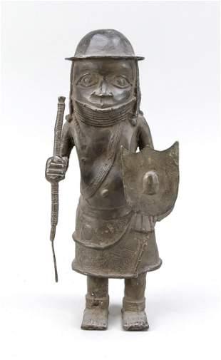Benin bronze, Benin, 20th c.?