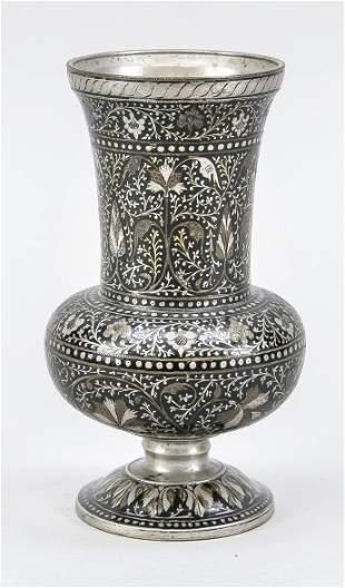 Cloisonné vase, Persian/Indo-P