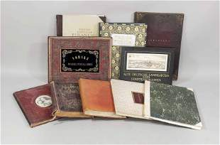 Large collection of books and