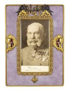 Grand frame, Vienna, 19th cent