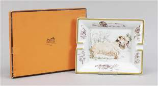 Large ashtray by Hermès, 20th