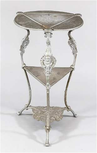 Side table, late 19th century,