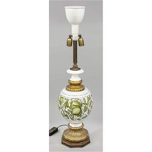 Large lamp stand, mid-20th c.,